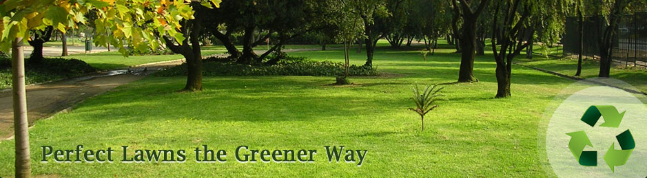 Perfect Lawns the Greener Way
